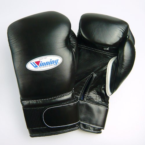 Winning Training Boxing Gloves 16oz (Black) MS600B