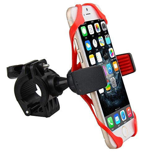 Browin Universal Bike Phone Holder with Super grip Elastic Stabilizer for iPhone 4,5,6,6S or Android...