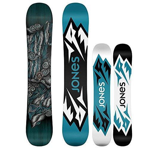 Jones - Mens Mountain Twin Snowboard 2016, 154