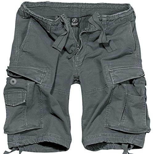 Brandit Vintage Classic Shorts Anthrazit Size L