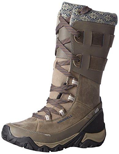 Merrell Women's Polarand Rove Peak Waterproof Winter Boot