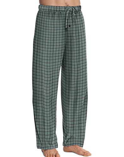 Hanes Mens ComfortSoft Cotton Printed Lounge Pants, XL
