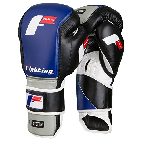 Title Boxing Fighting Sports S2 Gel Fierce Bag Gloves, Black/Grey, 12 oz