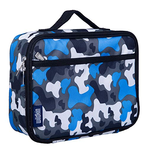 Wildkin Kids Insulated Lunch Box for Boys and Girls, Perfect Size for Packing Hot or Cold Snacks for...