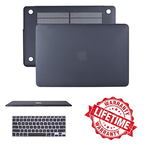 Macbook Pro Retina 13' Case, IC ICLOVER Ultra Slim Light Weight Rubberized Matte Hard Plastic...