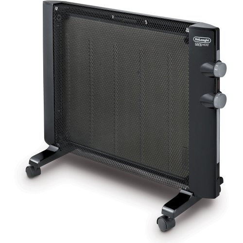 De'Longhi Mica Thermic Panel Heater, Full Room Quiet 1500W, Freestanding/Easy Install Wall Mount,...