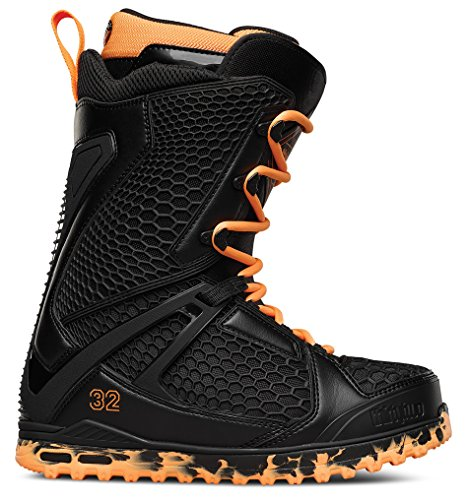 thirtytwo Team Two Stevens Snowboard Boots, Black/Orange, Size 9