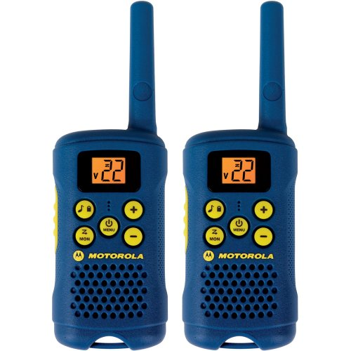 Motorola MG160A 16-Mile Range 22-Channel FRS/GMRS Pair of Two-Way Radio