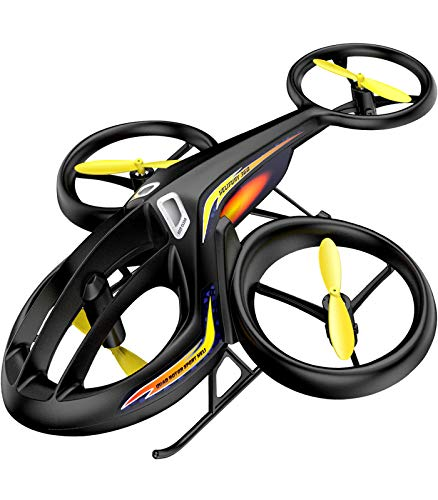 RC Helicopter, SYMA Latest Remote Control Drone with Gyro and LED Light 4HZ Channel Plastic Mini...