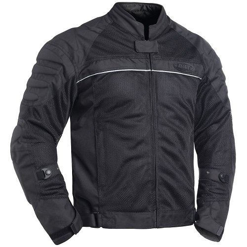 BILT Blaze Mesh Motorcycle Jacket - MD, Black