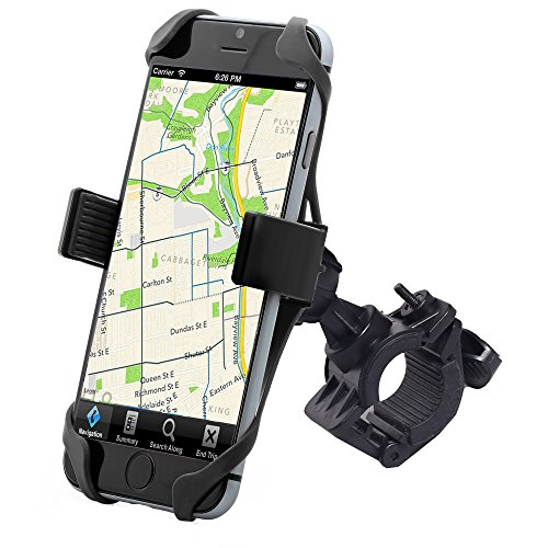 Bike Mount, Liger Universal SuperGrip Bike Mount Handlebar Holder for iPhone 6/5s/5c/4s, Galaxy...