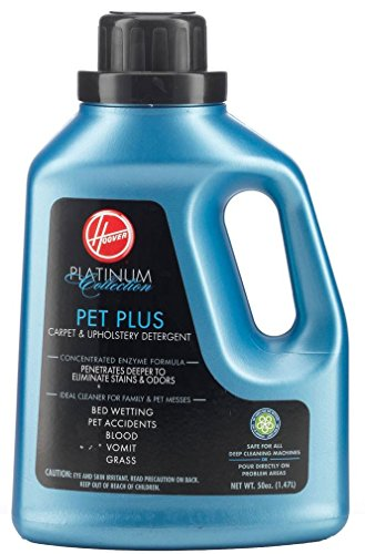Hoover AH30035 Carpet Cleaner and Upholstery Detergent Solution, Platinum Collection Pet Plus...