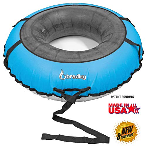 Bradley Multi-Rider Snow Tube with 60' Heavy Duty Cover | Sledding Tubes Made in USA