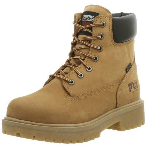 Timberland PRO Men's Direct Attach Six-Inch Soft-Toe Boot, Wheat Nubuck,10 M