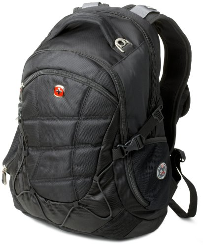 Swiss Gear SA9769 Black Laptop Backpack - Fits Most 15 Inch Laptops and Tablets