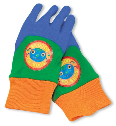 Melissa & Doug Be Good to Bugs Gardening Gloves for Kids