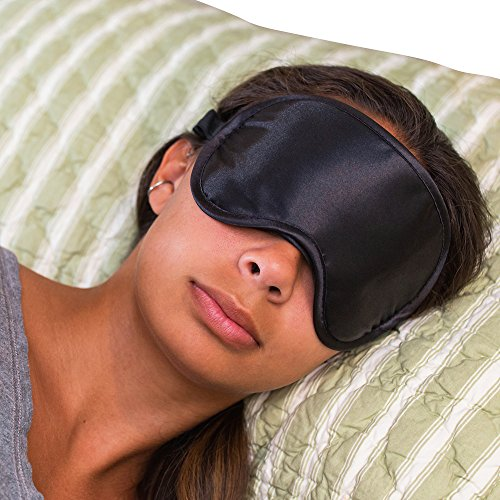 Super Silky Super-Soft Sleep Mask With Free Ear Plugs and Carry Case By 40 Winks. This Premium...