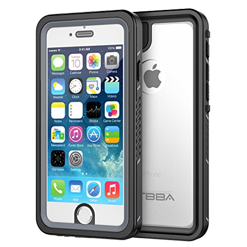 OTBBA iPhone 6/6s Waterproof Case, Sandproof IP68 Certified with Touch ID Shockproof Snowproof Full...