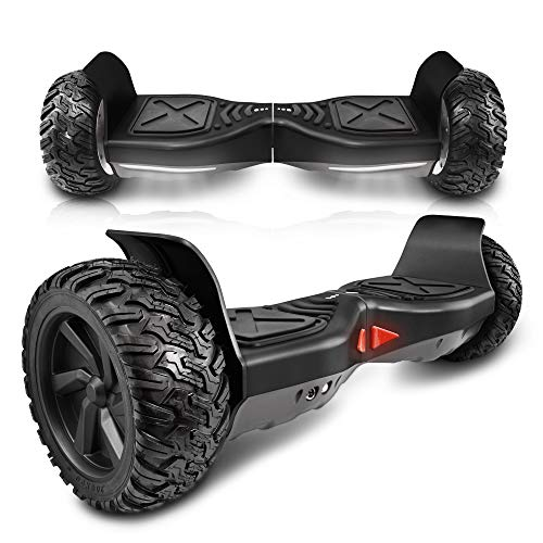 cho All Terrain 8.5' Inch Wheels Off Road Hoverboard Smart Self-Balancing Electric Scooter UL2272...