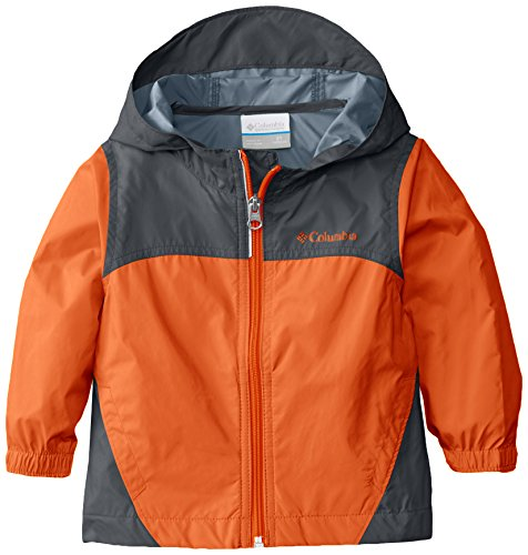 Columbia Boys Glennaker Rain Jacket, Tangy Orange, Medium
