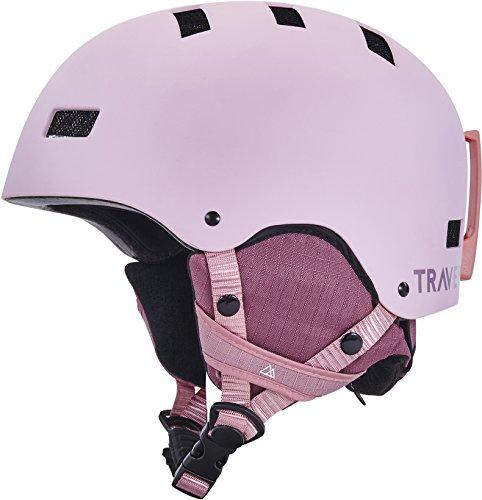 Traverse Sports Dirus Convertible Ski & Snowboard/Bike & Helmet, Matte Dusk, Medium (55-59cm)