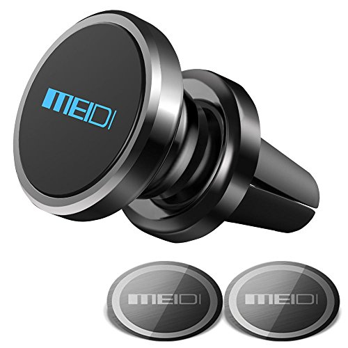 Air Vent Phone Holder, MEIDI Universal Magnetic Phone Car Mount 360 Rotation Cell Phone GPS Holder...