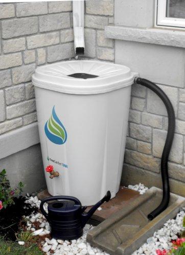 Enviro World EWC-10 FreeGarden Rain Barrel, Beige
