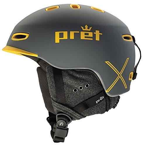 Pret Helmets Cynic X Helmet Rubber Rock Grey, M