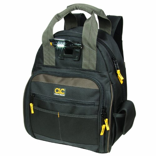 CLC Custom Leathercraft L255 Tech Gear 53 Pocket Lighted Back Pack