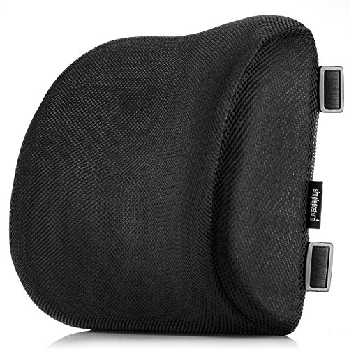 SimplePosture Lower Back Pain Cushion - Specially Designed for Maximum Lumbar Support and Back Pain...