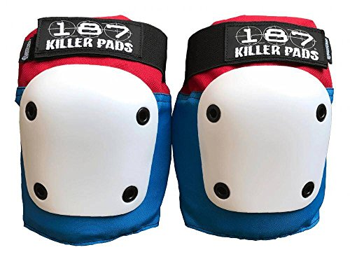 187 KILLER PADS Fly Knee (Red/White/Blue, Small)