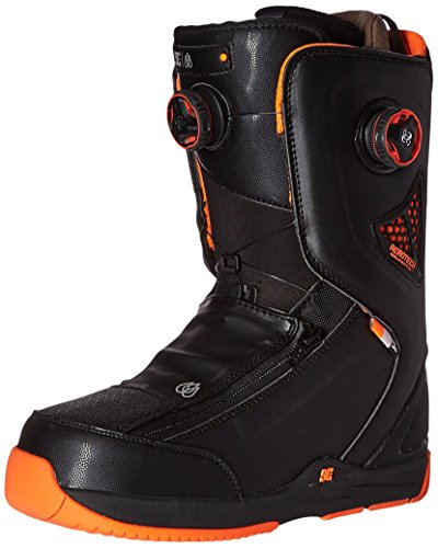 DC Men's Travis Rice Snowboard Boot, Black, 10D