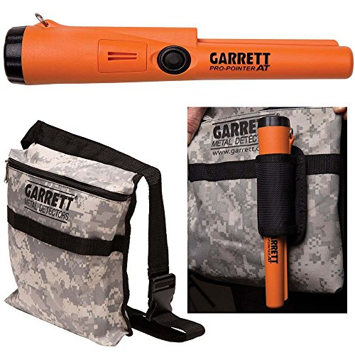 Garrett Pro Pointer AT Metal Detector Waterproof ProPointer with Garrett Camo Pouch