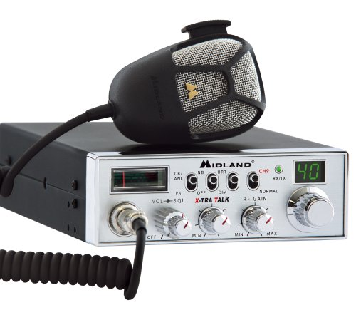 Midland 5001Z 40-Channel Mobile CB with Switchable Noise Filter