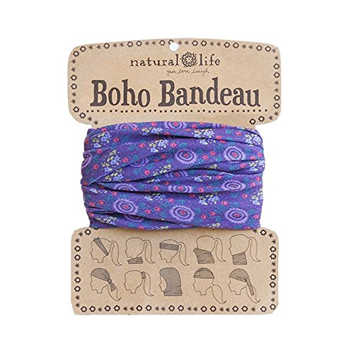 Natural Life Boho Bandeau Pattern, Purple