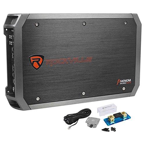 Rockville RXD-M3 4000 Watt/2000w RMS Mono Class D 1 Ohm Amplifier Car Stereo Amp