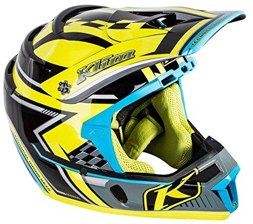 Klim ECE Men's F4 Snocross Snowmobile Helmet - Legacy Voltage/Large