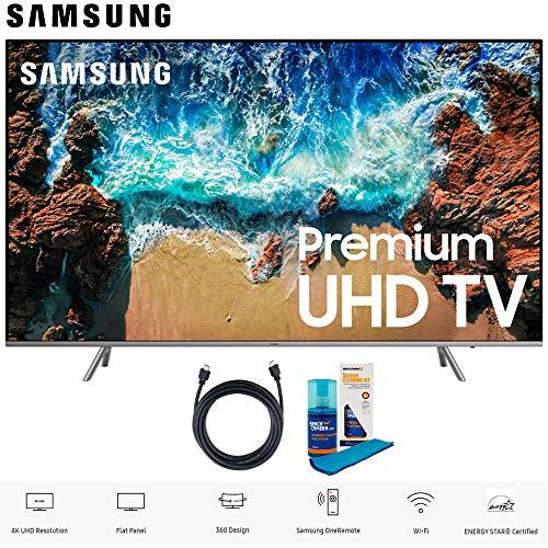 SAMSUNG UN82NU8000 82' Class NU8000 Premium Smart 4K Ultra HD TV (2018) (UN82NU8000FXZA) with 6ft...