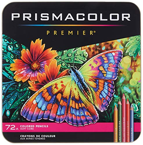 Prismacolor Premier Colored Pencils | Art Supplies for Drawing, Sketching, Adult Coloring | Soft...