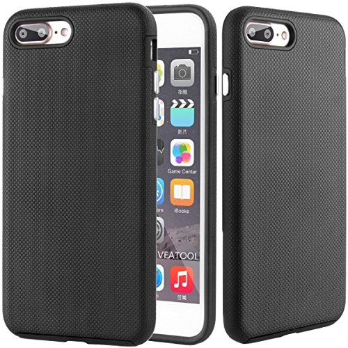 Veatool iPhone 7 Plus Case, [Dual Layer] Drop Protection and Premium Shock Absorption Technology...