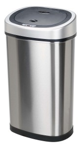 Nine Stars Infrared Touchless Stainless Steel Trash Can