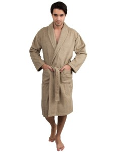 menu0027s turkish cotton bathrobe terry shawl robe made in turkey - Mens Bathrobes