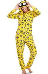Despicable Me 2 Woman's Non-Footed Onesie Pajama, Sizes 4-20w