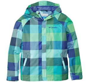 Big Girl's Columbia Fast and Curious Rain Jacket