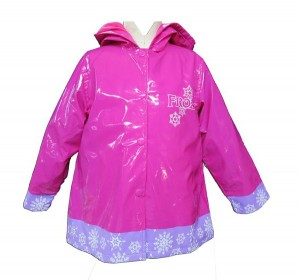Girl's Anna and Elsa Raincoat From Disney's Frozen