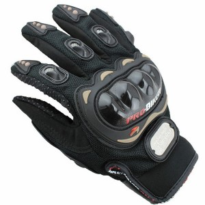 Upalm Carbon Fiber Pro-Biker Bicycle Motorcycle Motorbike Powersports Racing Gloves