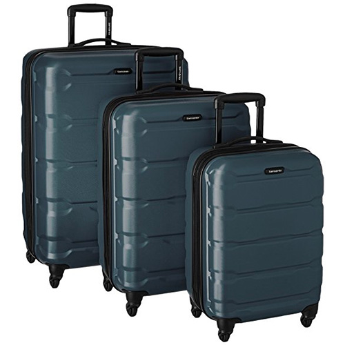 Samsonite Omni, a PC Piece, Set with a Spinner 20, 24 and 28
