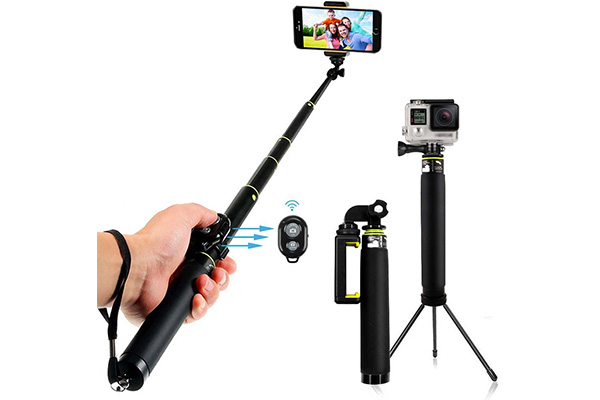 top 10 best bluetooth selfie stick in 2017 reviews our great products. Black Bedroom Furniture Sets. Home Design Ideas
