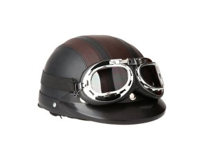 Docooler Leather Style Half Helmets