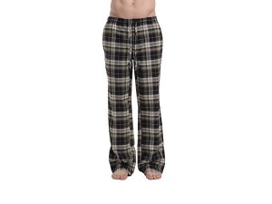 CYZ Men's 100% Cotton Premium Super Soft Flannel Plaid Pajama/Louge Pants